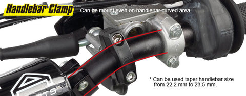 handle bar clamp position