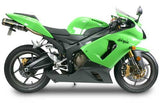Kawasaki ZX-636R/6RR Dual Slip-On System (2005-2006), Kawasaki Street Exhaust, Two Brothers Racing  - Langston Motorsports