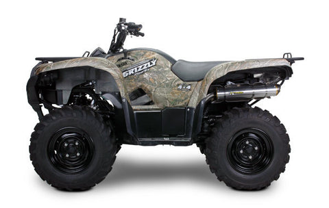 Yamaha Grizzly 700 Slip-On System (2008-2013), Yamaha Exhaust, Two Brothers Racing  - Langston Motorsports