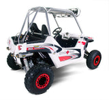 Polaris RZR800-S/RZR800-4 Full System (2009-2014), Polaris RZR Exhaust, Two Brothers Racing  - Langston Motorsports
