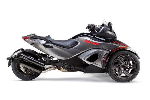 Can-Am Spyder ST/RS/RT Dual Slip-On System (2013-2015), Spyder Exhaust, Two Brothers Racing  - Langston Motorsports