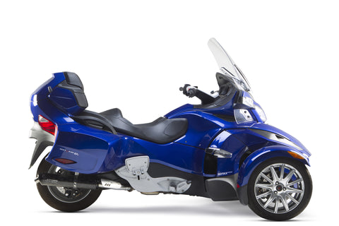 Can-Am Spyder ST/RS/RT Single Slip-On System (2013-2015), Spyder Exhaust, Two Brothers Racing  - Langston Motorsports