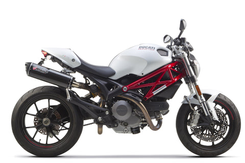 Ducati Monster 696/796/1100 Slip-On System (2008-2013), Ducati Exhaust, Two Brothers Racing  - Langston Motorsports
