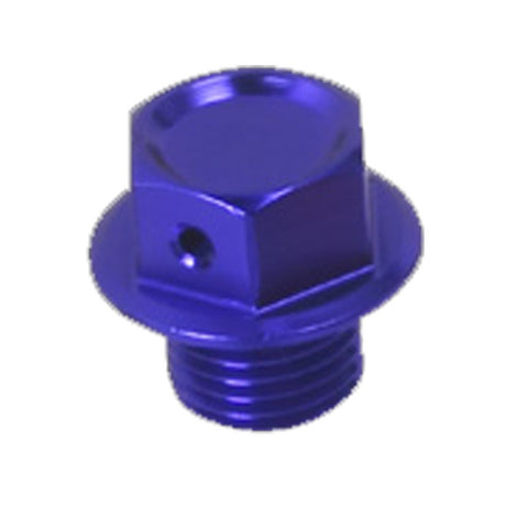 Zeta Light weight Colored Anodized Aluminum Magnetic Oil Drain Bolt, Drain Bolt, Zeta  - Langston Motorsports