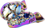 Flo Motorsports Jet Fuel Finished Foot Pegs