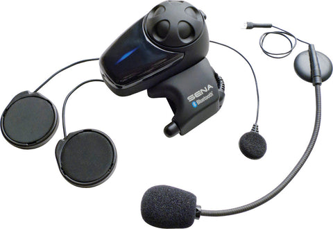 Sena SMH10 Bluetooth Headset and Intercom with Universal Mic Kit, Sena Bluetooth, Sena  - Langston Motorsports