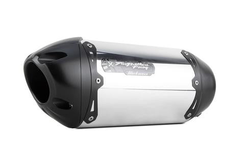 Honda CBR500R Slip-On System (2016-2017), Honda Street Exhaust, Two Brothers Racing  - Langston Motorsports