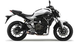 Yamaha MT-07 Full System (2017), Yamaha Exhaust, Two Brothers Racing  - Langston Motorsports