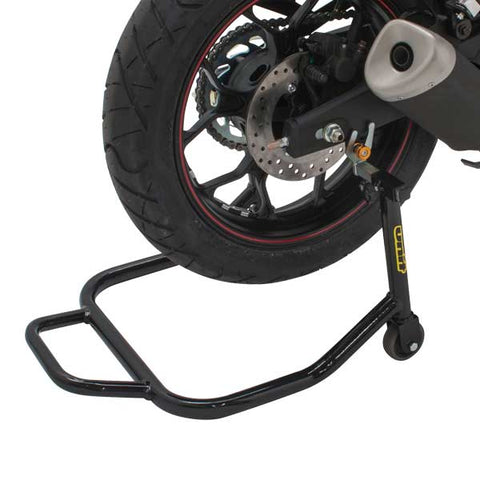 Streetbike Race Track Rear Spool Stand U-Type, Streetbike Stand, Unit  - Langston Motorsports