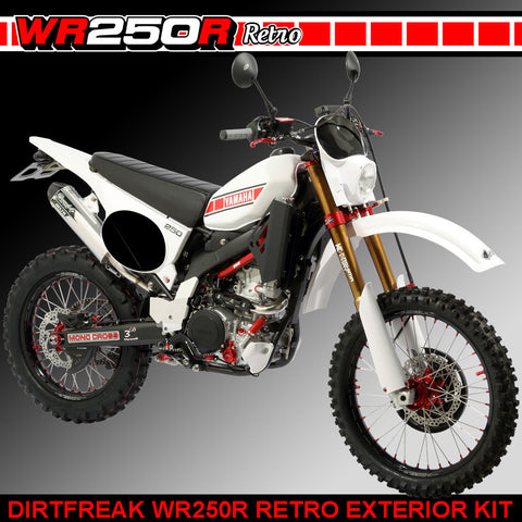 Yamaha WR250R Retro Conversion Kit 2008-2017 Models, Yamaha WR250R Retro Kit, DRC  - Langston Motorsports