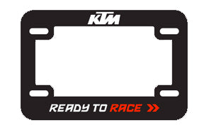 Motorcycle License Plate Holder, motorcycle license plate holder, KTM  - Langston Motorsports