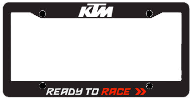 Auto License Plate Holder, License Plate Holder, KTM  - Langston Motorsports