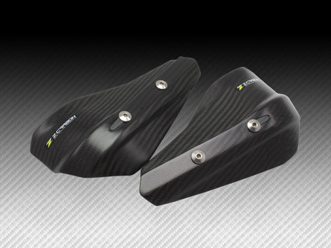 Zeta Carbon Fiber Hand Guard Shields for Armor Hand Guards, Hand Guards, Zeta  - Langston Motorsports