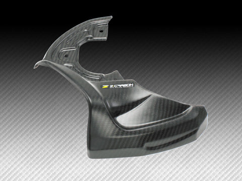 Zeta Carbon Fiber Front Disc Air Scoop, Front Disc Guard, Zeta  - Langston Motorsports