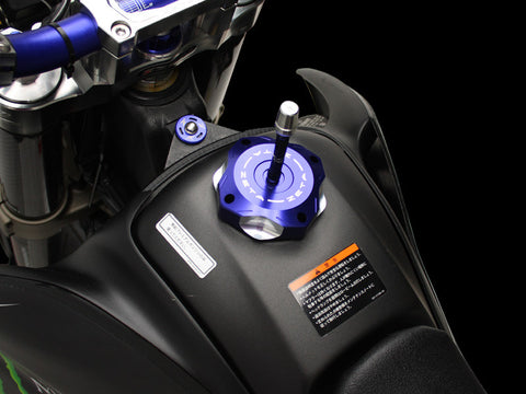 Zeta Light weight Anodized Colored Gas Cap for Dual sport bikes, Gas Cap, Zeta  - Langston Motorsports