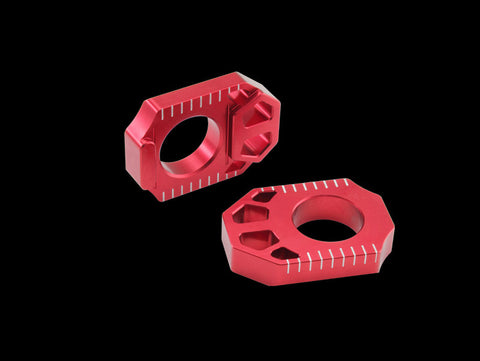 Zeta Light weight Anodized Colored Rear Axle Blocks, Axle Blocks, Zeta  - Langston Motorsports