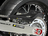 Zeta Carbon Fiber Chain Cover - Langston Motorsports