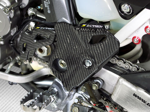 Zeta Carbon Fiber Frame Guards - Langston Motorsports