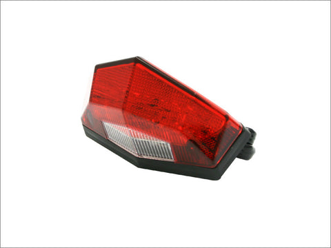 DRC Moto LED Edge 2 Tail Light Universal Fit No Brackets, Tail Light, DRC  - Langston Motorsports