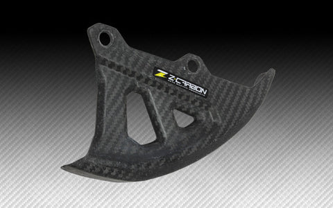 Zeta Carbon Fiber Rear Disc Guard, Rear Disc Guard, Zeta  - Langston Motorsports