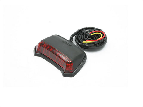 DRC Moto LED Phantom Fender bolt on Tail Light Red Lens, Tail Light, DRC  - Langston Motorsports