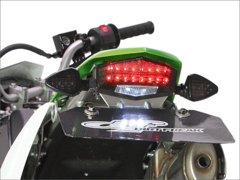 DRC Moto LED Edge 2 Tail Light with Aluminum Holder, Tail Light, DRC  - Langston Motorsports