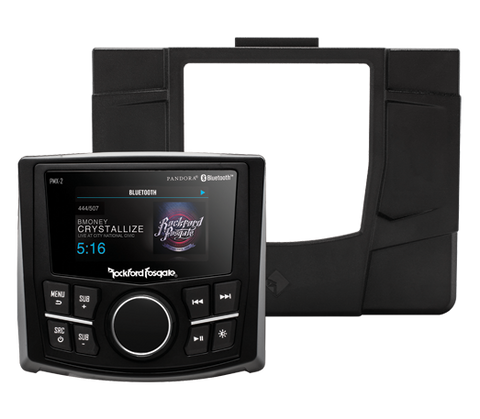 Polaris RZR Rockford Fosgate Stage 1 Stereo Kit, Stereo, Rockford Fosgate  - Langston Motorsports