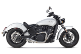 Indian Scout Full System Exhaust (2017), Cruiser, TBR  - Langston Motorsports