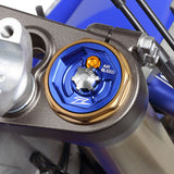Zeta Front Fork Top Cap Colored Anodized Aluminum, Front Fork Top Cap, Zeta  - Langston Motorsports
