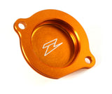 Zeta Light Weight Anodized Colored Oil Filter Cover, Oil filter cover, Zeta  - Langston Motorsports