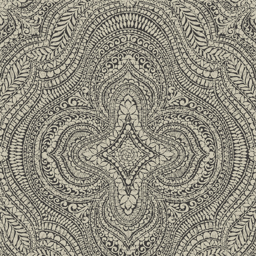 Tapiz Damask Anthracite