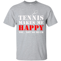 TENNIS MAKES ME HAPPY RED & WHITE COLLECTION