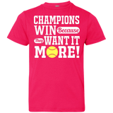 CHAMPIONS WIN CHILDREN'S SHIRTS