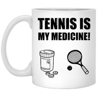 TENNIS IS MY MEDICINE MEN'S & WOMEN'S ACCESSORIES