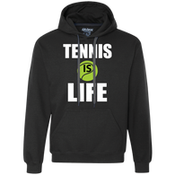 TENNIS IS LIFE MEN'S LONG SLEEVE SHIRTS & SWEATSHIRTS