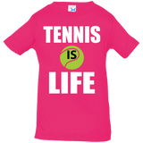 TENNIS IS LIFE INFANT'S SHIRTS