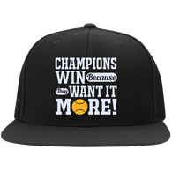 CHAMPIONS WIN BECAUSE THEY WANT IT MORE HATS