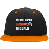 BREATHE FOCUS DESTROY THE BALL HATS