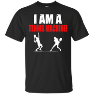 I AM A TENNIS MACHINE RED & WHITE QUICK COLLECTION