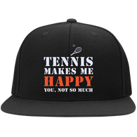 TENNIS MAKES ME HAPPY YOU, NOT SO MUCH RED & WHITE HATS