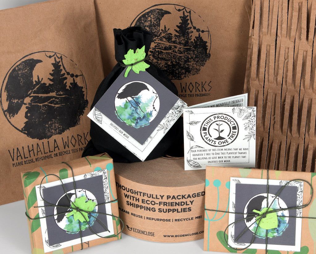 Valhalla Works Eco-Friendly Packaging