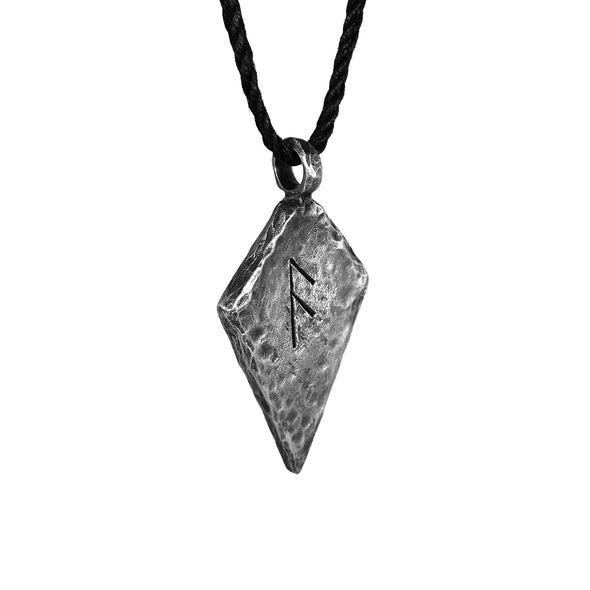 Ansuz Rune Necklace