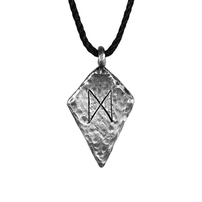 Dagaz Rune Necklace