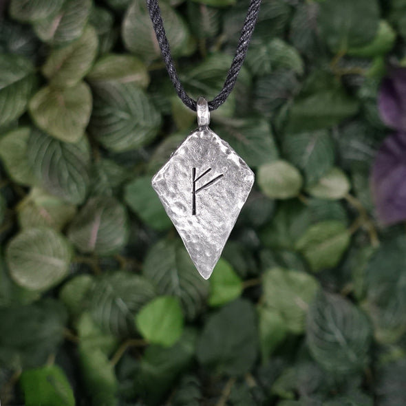 Fehu Rune Necklace