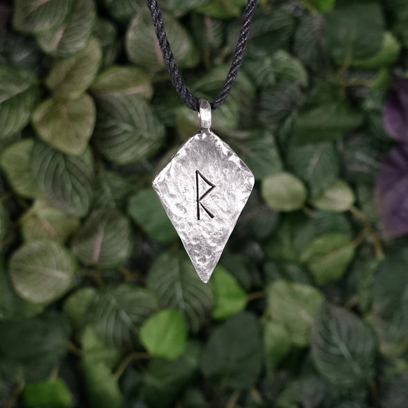 Raido Rune Necklace