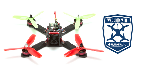 Warrior | bind and fly racing drone from FlyMaxFPV | Pre-Order