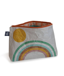Retro Rainbow Travel Pouch