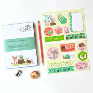 Woodland Writing Set