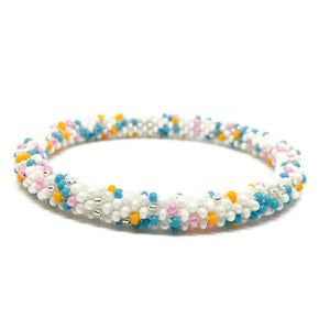 Lifted Hope Bracelets  - Light Confetti