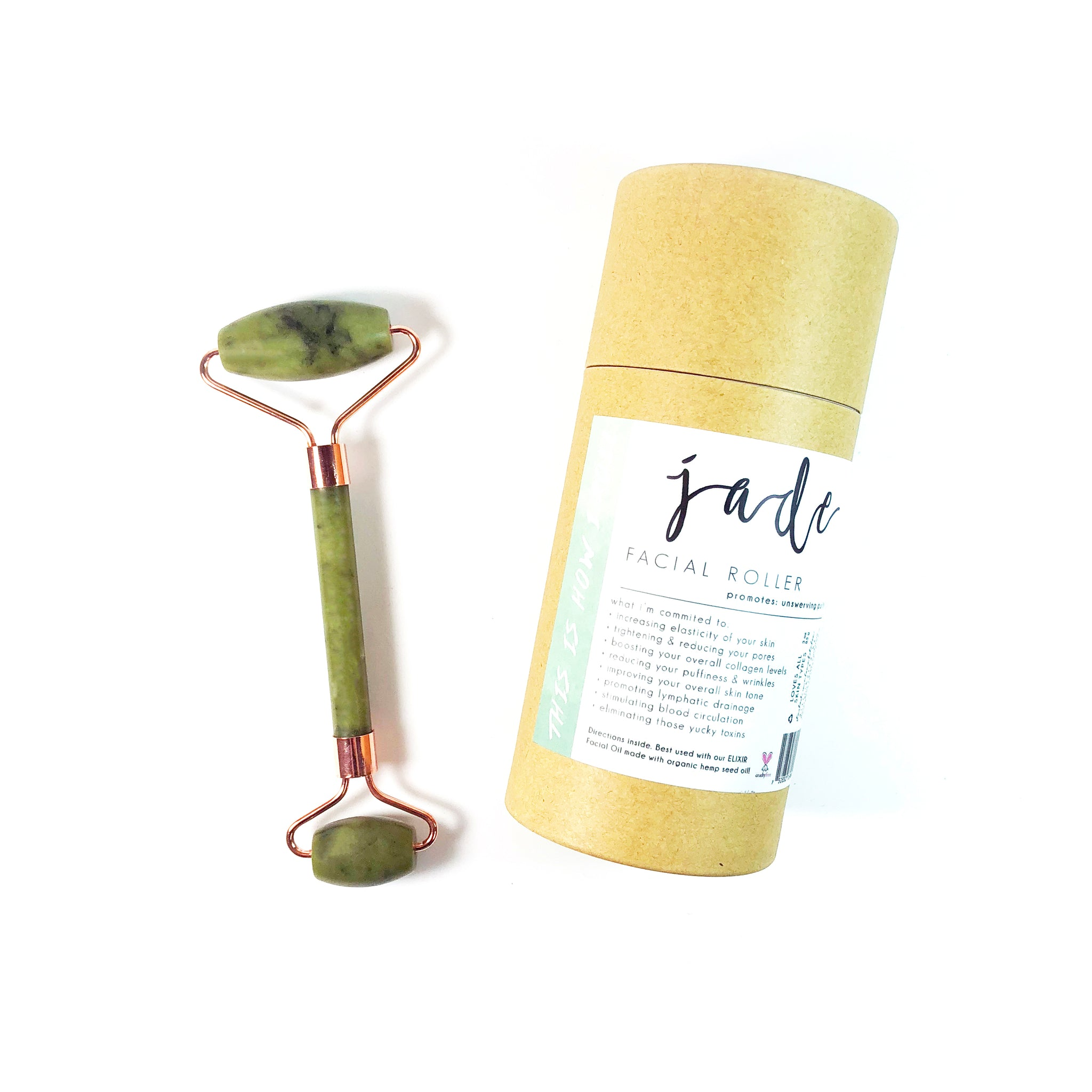 Jade Facial Roller | Facial Beauty Tool | Skin Care